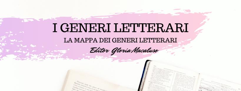 Editor Gloria Macaluso - i generi letterari